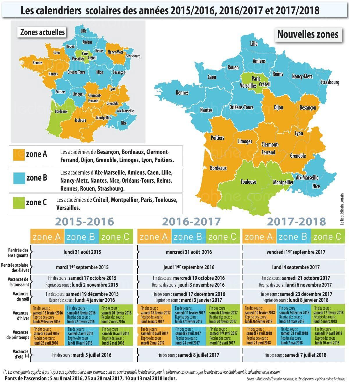 Calendrier Scolaire 2016 2017 Ecole Elementaire Publique